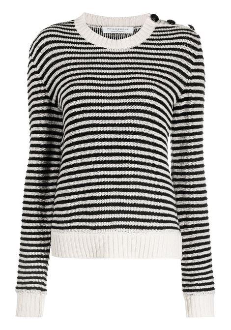 Black/white jumper PHILOSOPHY di LORENZO SERAFINI |  | 09017021555