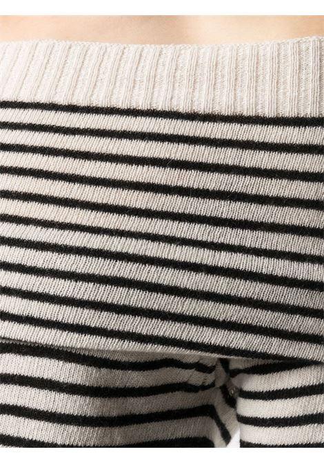 Maglione beige/nero PHILOSOPHY di LORENZO SERAFINI | MAGLIE | 09267021555