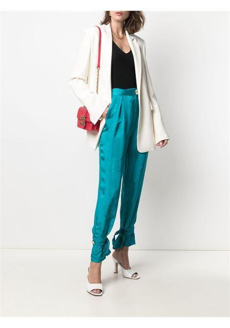 Pantalone verde PINKO | PANTALONI | 1G15WL8405U98