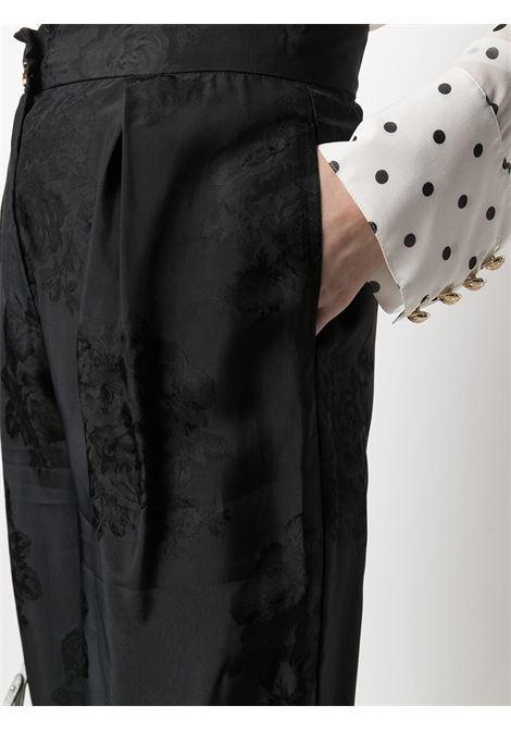Pantalone nero PINKO | PANTALONI | 1G15WL8405Z99