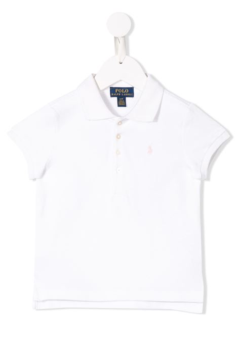 Polo bianco POLO RALPH LAUREN KIDS | POLO | 313573242005