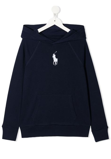 Blue sweatshirt POLO RALPH LAUREN KIDS | SWEATSHIRTS | 313833555004