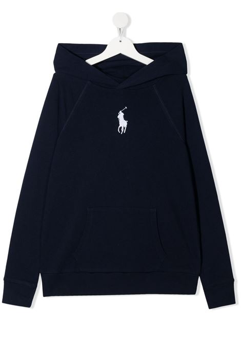 Blue sweatshirt POLO RALPH LAUREN KIDS | SWEATSHIRTS | 313833555X004