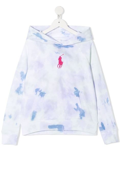 White sweatshirt POLO RALPH LAUREN KIDS | SWEATSHIRTS | 313833556001