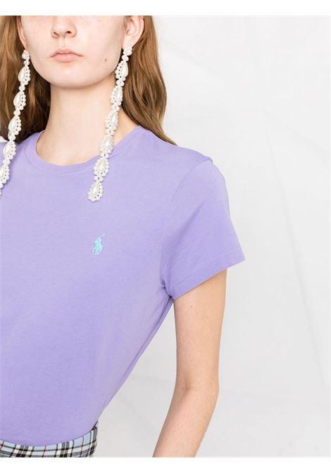 Lilac t-shirt POLO RALPH LAUREN | T-SHIRT | 211734144046