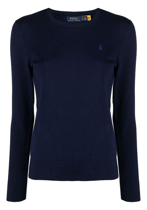 Maglione blu POLO RALPH LAUREN | MAGLIONE | 211827537002
