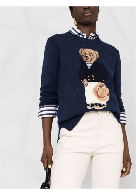 Pullover blu POLO RALPH LAUREN | 211827666001