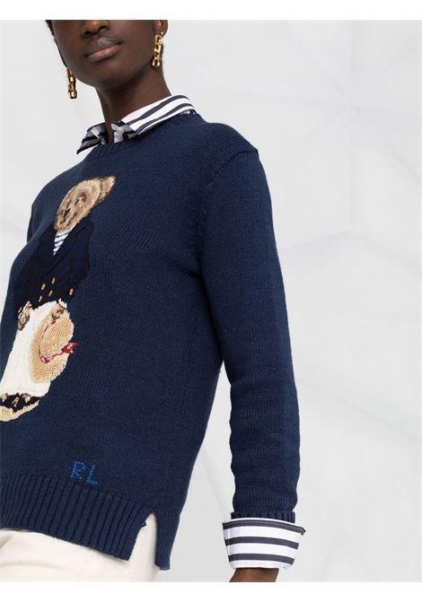 Pullover blu POLO RALPH LAUREN   PULLOVER   211827666001