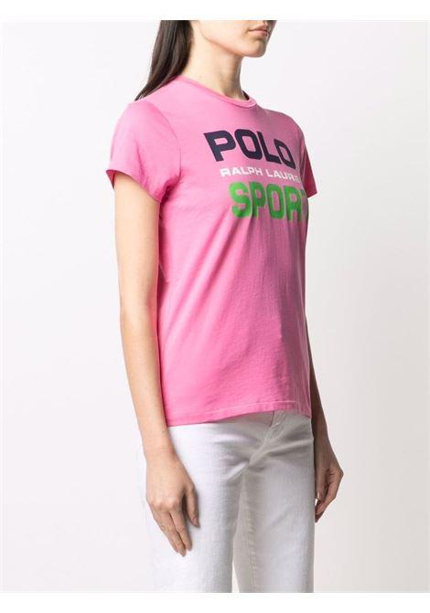 T-shirt rosa POLO RALPH LAUREN | T-SHIRT | 211838079005