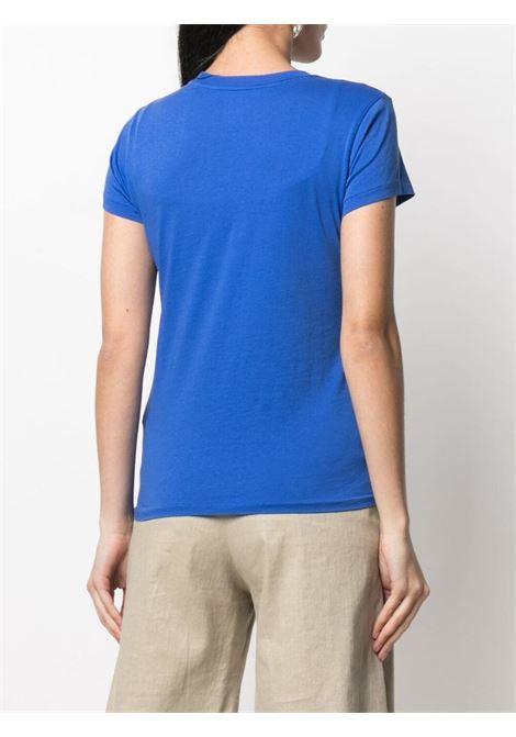 T-shirt blu POLO RALPH LAUREN | T-SHIRT | 211838100002