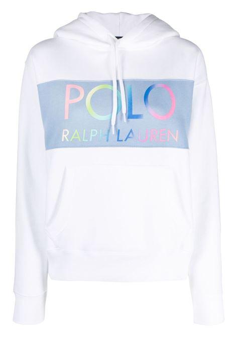Felpa bianca POLO RALPH LAUREN | FELPE | 211838110001