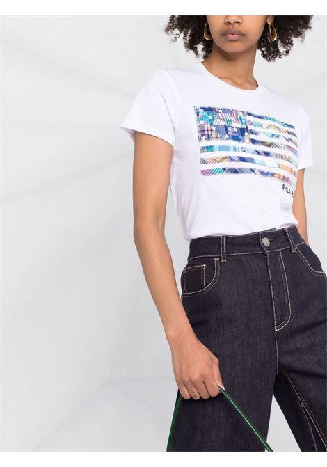 T-shirt bianca POLO RALPH LAUREN | T-SHIRT | 211838134001