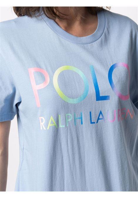 T-shirt blu POLO RALPH LAUREN | T-SHIRT | 211838144002