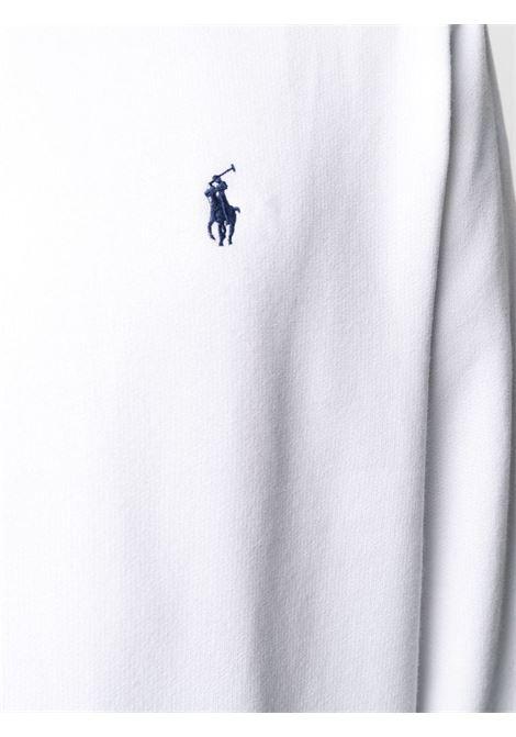 Felpa bianca POLO RALPH LAUREN | FELPE | 710766778009