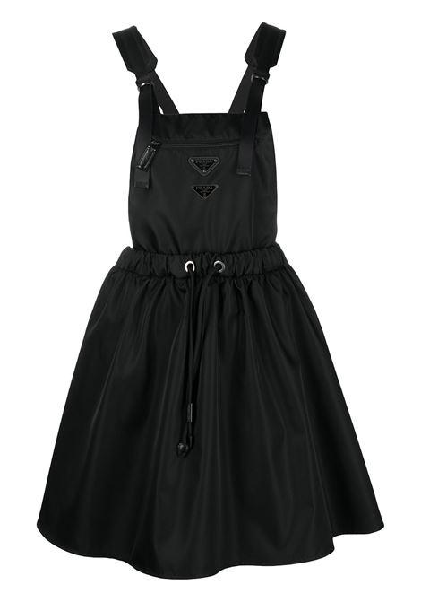 Black dungaree dress PRADA |  | 23X633S2021WQ8F0002