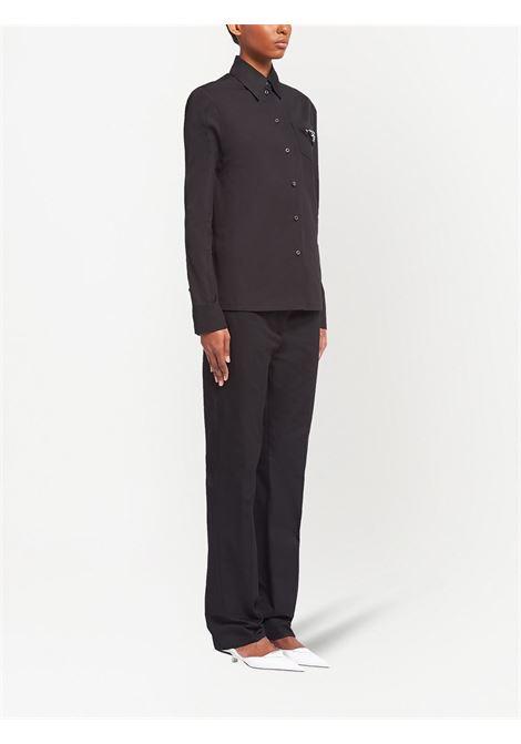 Black shirt PRADA |  | P408FRS2111YSTF0806