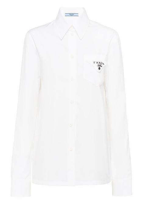 Camicia bianca PRADA | CAMICIE | P408FRS2111YSTF0N40