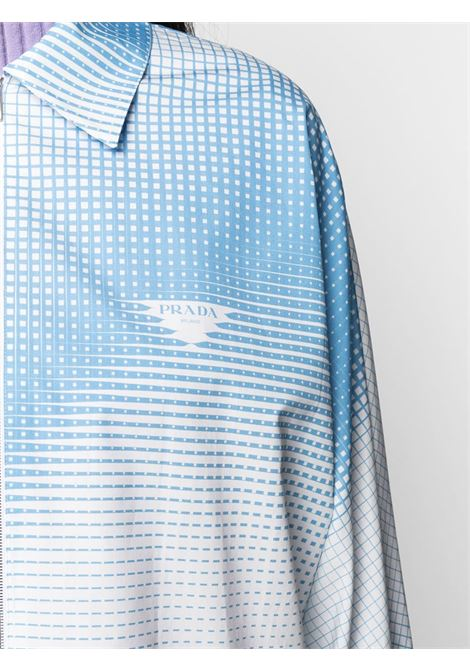 White/light blue shirt PRADA |  | P479EGS2111YIFF0AZ1
