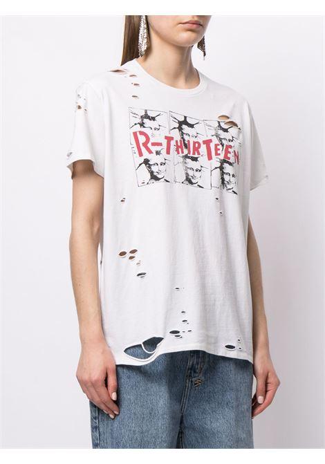 White t-shirt R13 | T-SHIRT | R13W937043830