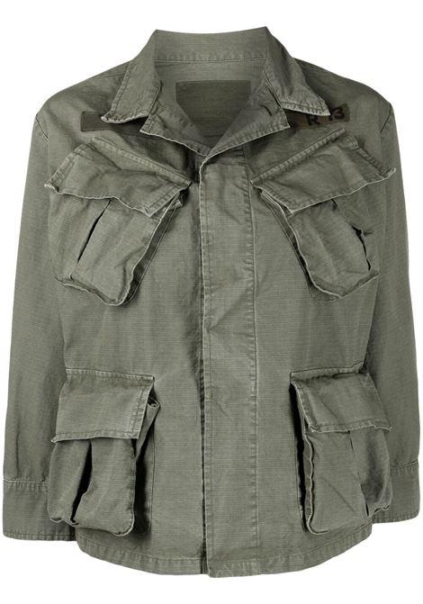 Green jacket R13 | JACKETS | R13W9413NJ330OD