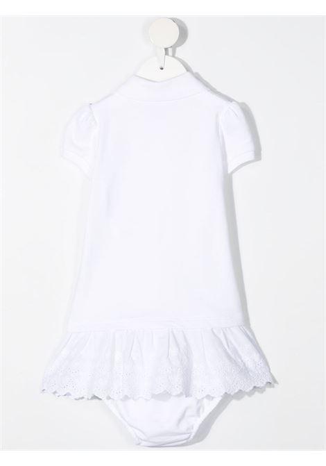 Abito bianco POLO RALPH LAUREN KIDS | ABITI | 310835047003