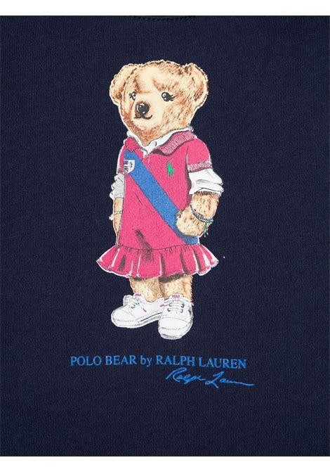 Felpa blu POLO RALPH LAUREN KIDS | FELPE | 310837228001