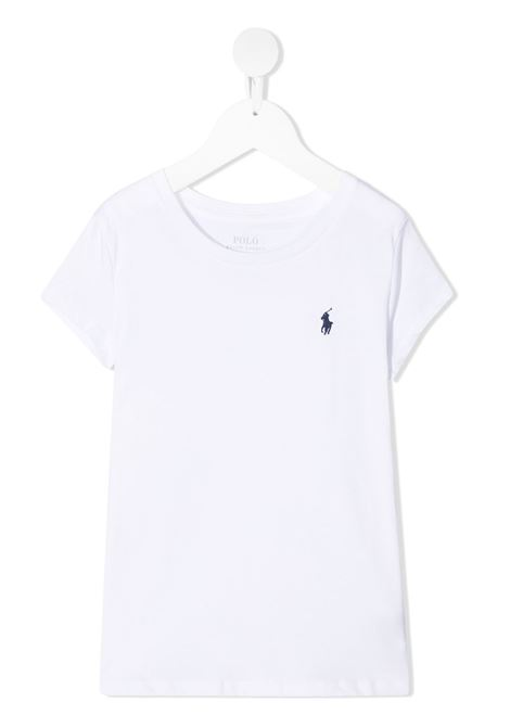 T-shirt bianca RALPH LAUREN KIDS | T-SHIRT | 311833549008