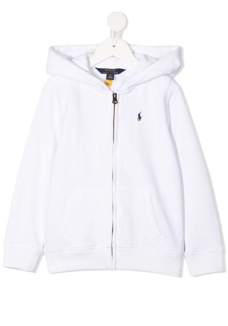 White sweatshirt POLO RALPH LAUREN KIDS | SWEATSHIRTS | 311833560022