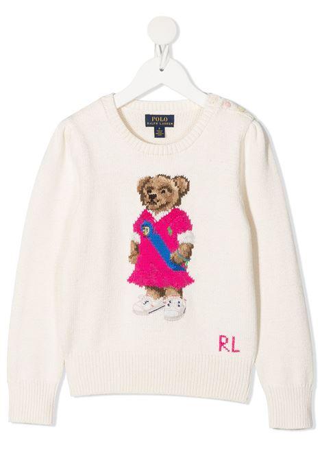 White jumper POLO RALPH LAUREN KIDS | JERSEYS | 311834981001