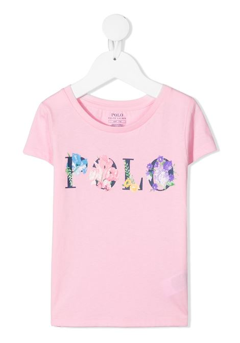 T-shirt rosa POLO RALPH LAUREN KIDS | T-SHIRT | 311837218001