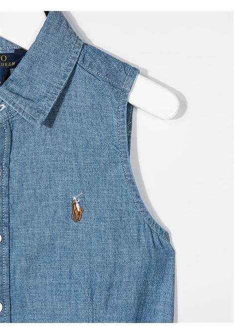 Blue dress POLO RALPH LAUREN KIDS | DRESS | 313832880001