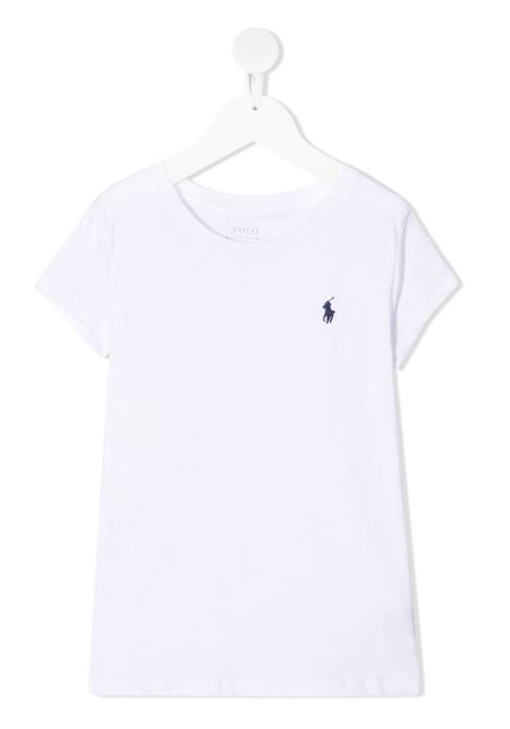 T-shirt bianca RALPH LAUREN KIDS | T-SHIRT | 313833549008