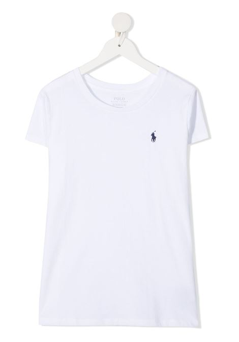 T-shirt bianca POLO RALPH LAUREN KIDS | T-SHIRT | 313833549X008