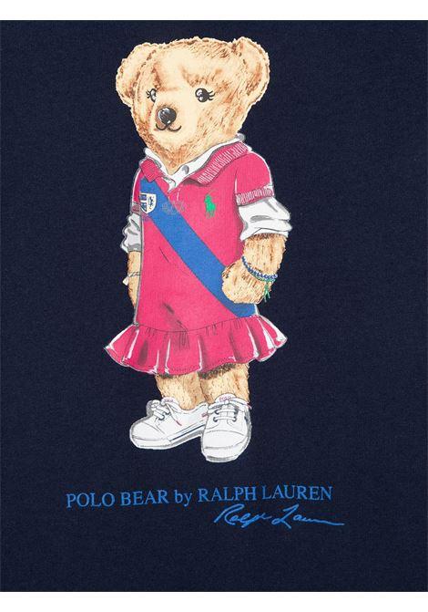 Abito nero POLO RALPH LAUREN KIDS | ABITI | 313837200001