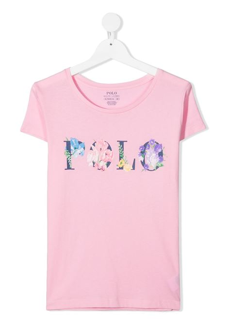 T-shirt rosa POLO RALPH LAUREN KIDS | T-SHIRT | 313837218X001