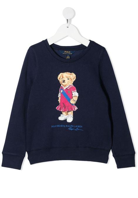 Blue jumper POLO RALPH LAUREN KIDS | SWEATER | 313837228001