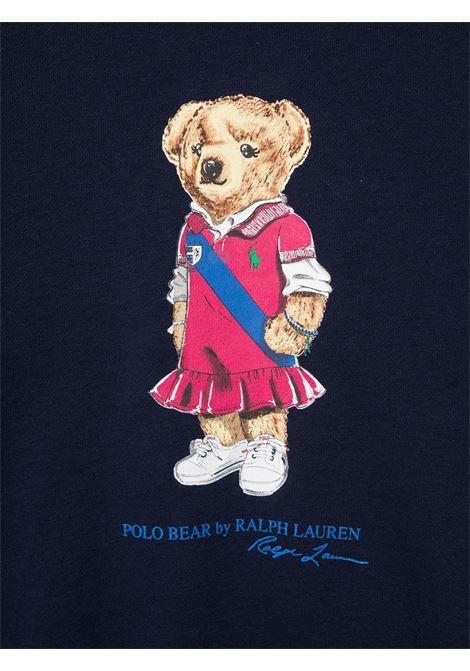 Blue sweatshirt POLO RALPH LAUREN KIDS | SWEATSHIRTS | 313837228X001