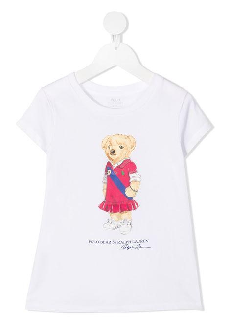 T-shirt bianca POLO RALPH LAUREN KIDS | T-SHIRT | 313838265001
