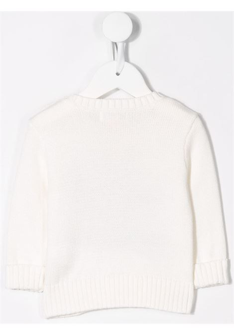 Maglione bianco POLO RALPH LAUREN KIDS | MAGLIONE | 320669571003