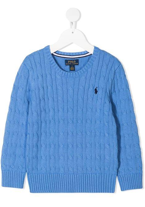 Maglione blu POLO RALPH LAUREN KIDS | MAGLIONE | 321702674016