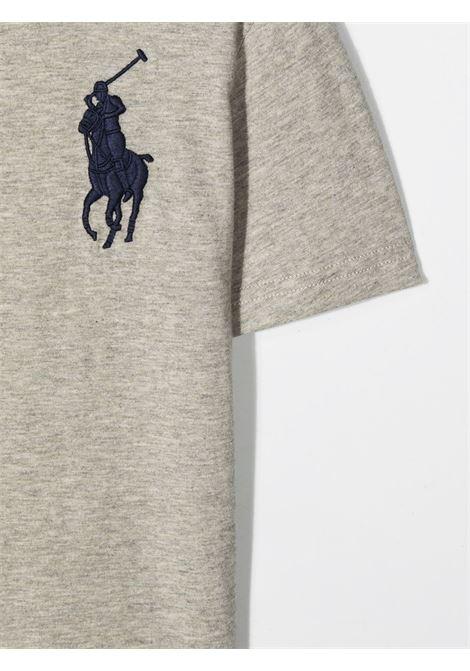 T-shirt grigia POLO RALPH LAUREN KIDS | T-SHIRT | 321832907021