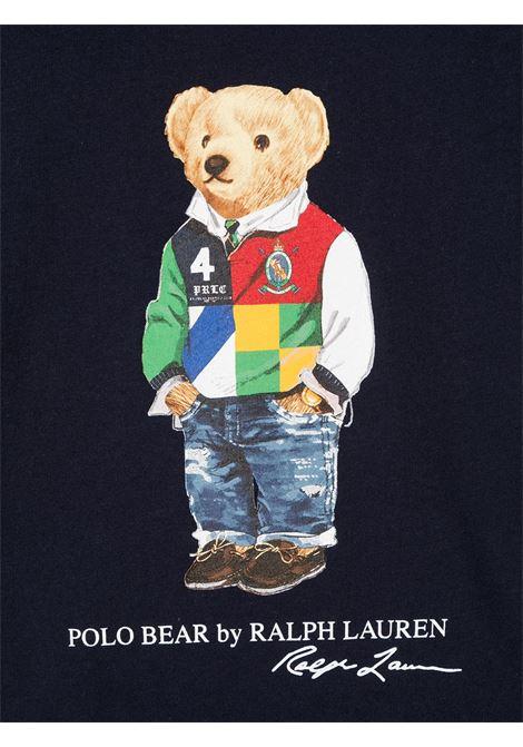 T-shirt nera POLO RALPH LAUREN KIDS   T-SHIRT   321838244002