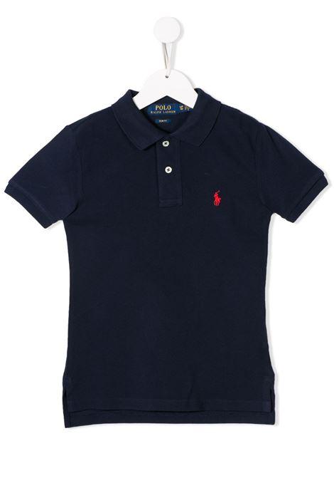 Polo blu POLO RALPH LAUREN KIDS   POLO   323547926004
