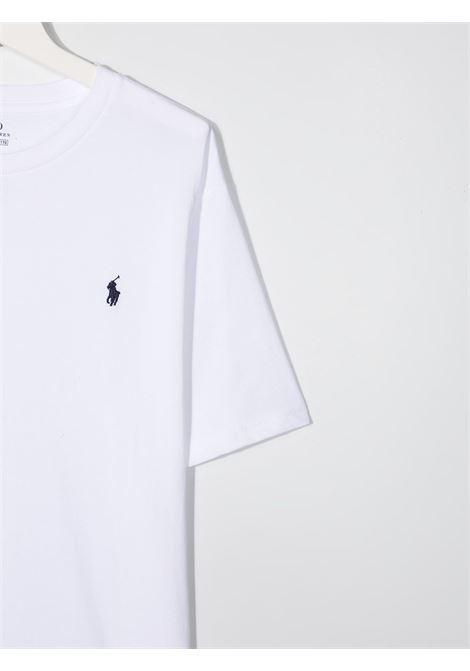T-shirt bianca POLO RALPH LAUREN KIDS | T-SHIRT | 323674984X002