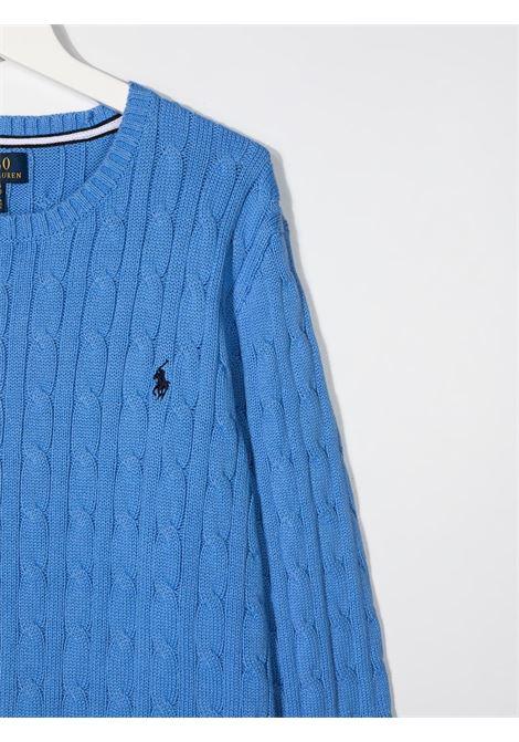 Maglione blu POLO RALPH LAUREN KIDS | MAGLIONE | 323702674X016