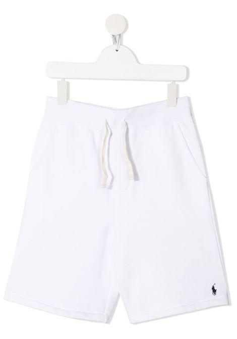 Shorts bianco POLO RALPH LAUREN KIDS | SHORTS | 323806003010