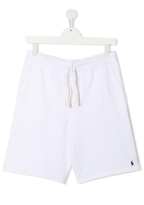 Shorts bianco POLO RALPH LAUREN KIDS | SHORTS | 323806003X010