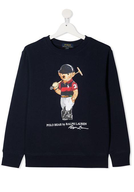 Maglione blu POLO RALPH LAUREN KIDS | MAGLIONE | 323836596001