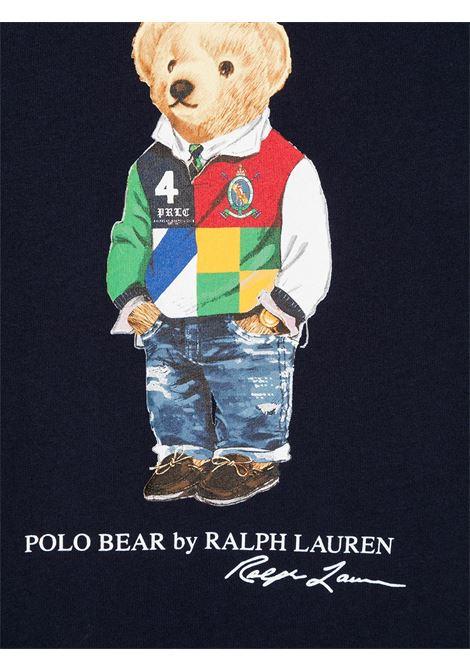 T-shirt blu POLO RALPH LAUREN KIDS | T-SHIRT | 323838244002
