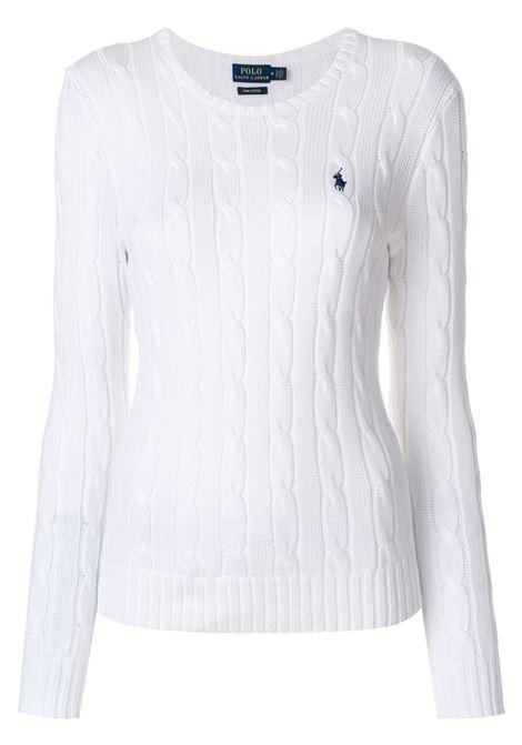 Pullover bianco POLO RALPH LAUREN | 211580009005